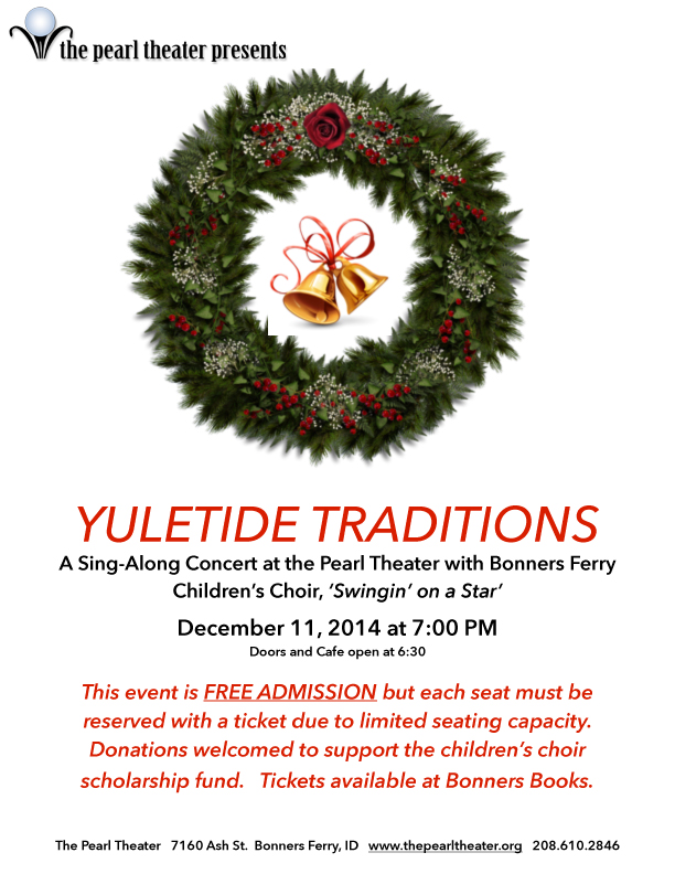 Yuletide Traditions Poster 2014