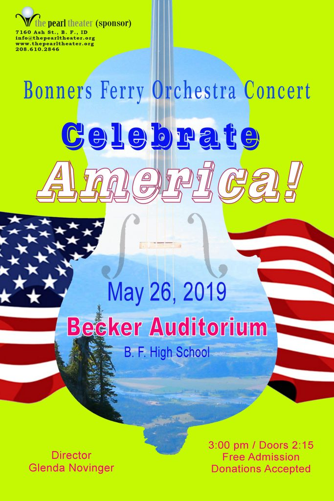 "Bonners Ferry Community Orchestra – ""Celebrate America!"""