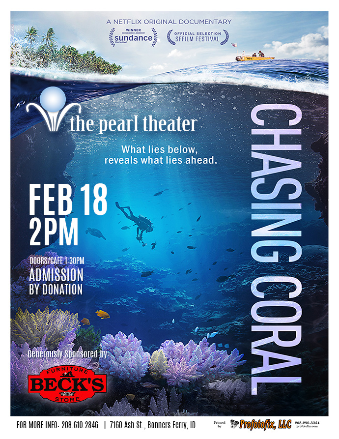 "Movie at The Pearl ""Chasing Coral""/documentary"
