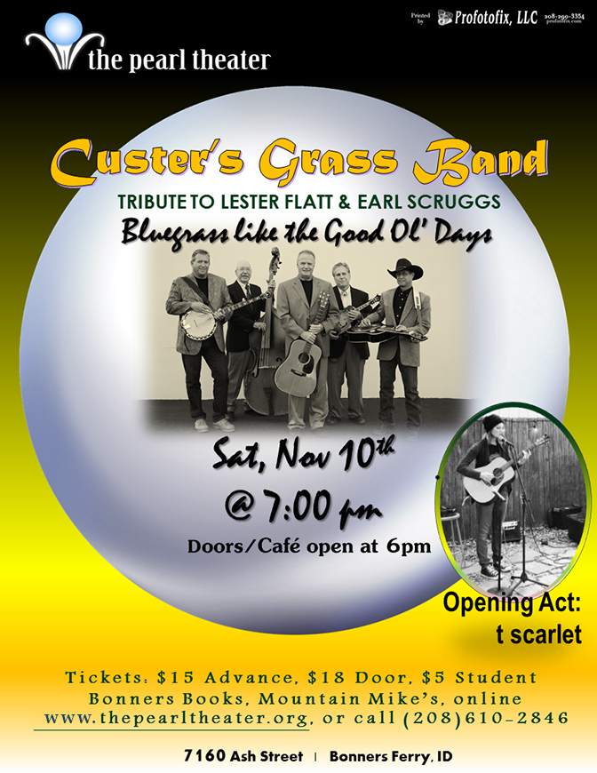 Custer's Grass Band - Tribute to Flatt & Scruggs  (A Season Show)
