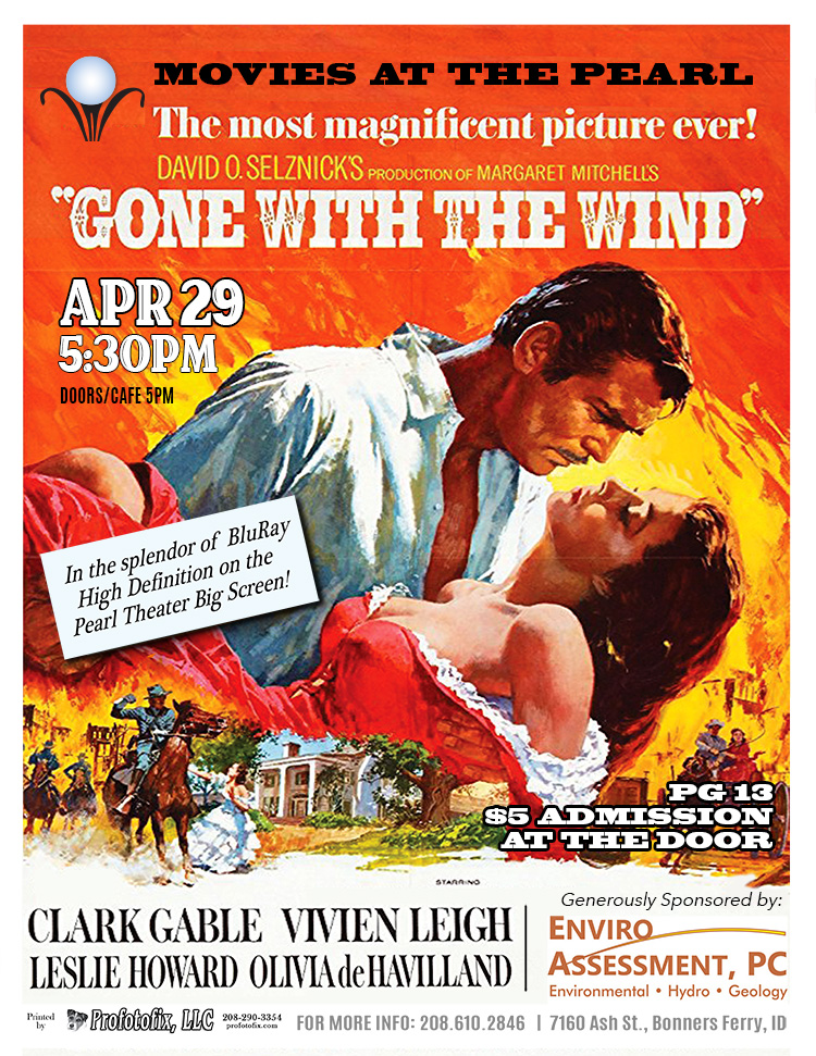 Movie at The Pearl - Gone With the Wind