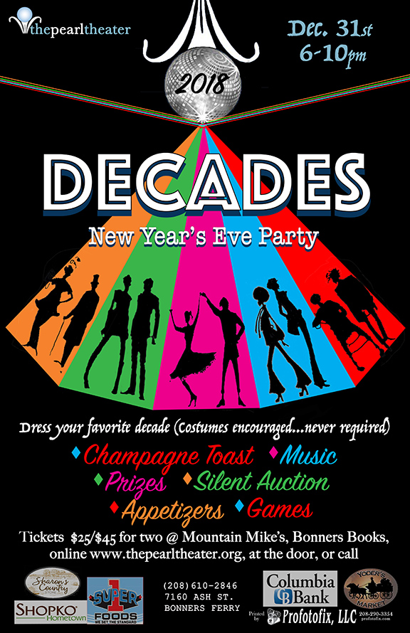 the pearl celebrates the new year with a decades theme party goers may dress in their favorite decade to ring in 2018 on eastern standard timeenough