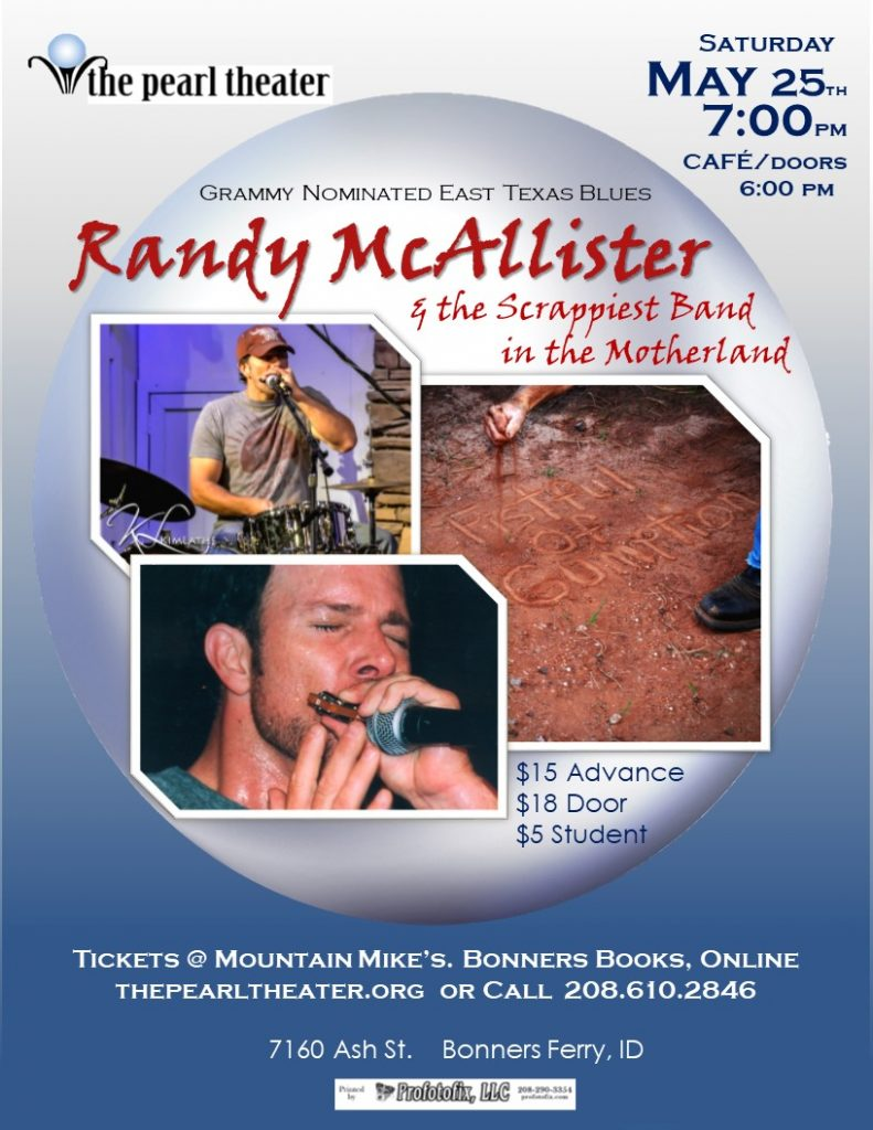 The Pearl Presents -- Randy McAllister