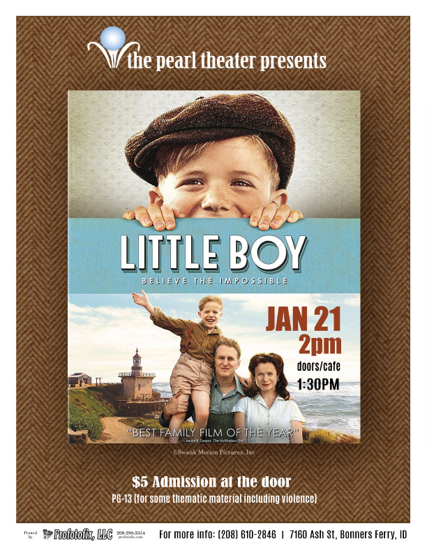 "Movie at The Pearl ""Little Boy"""