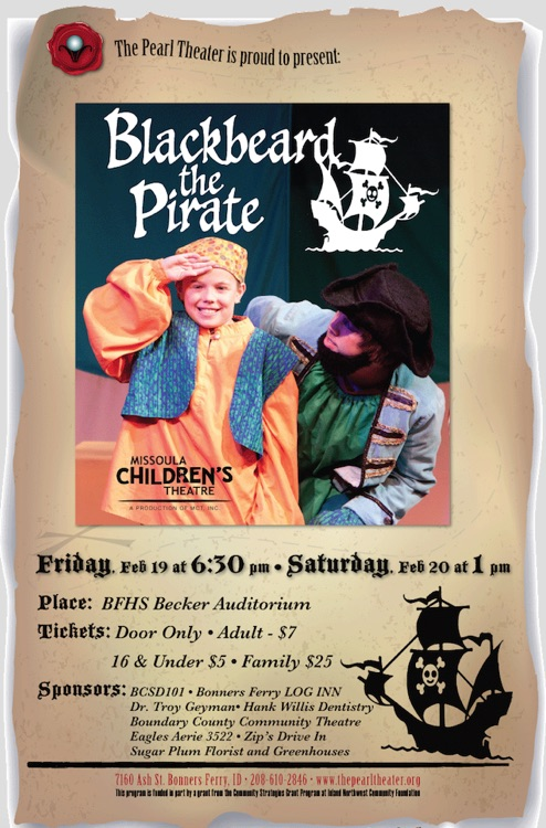 Missoula Children's Theater - Blackbeard the Pirate