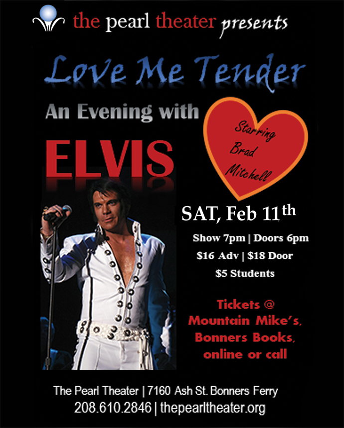 Love Me Tender Elvis Tribute featuring Brad Mitchell