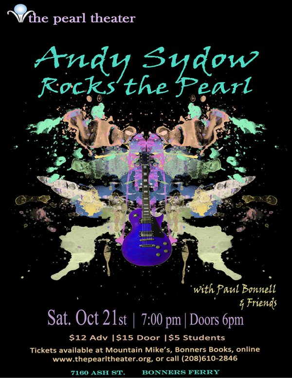 Andy Sydow Band Rocks The Pearl