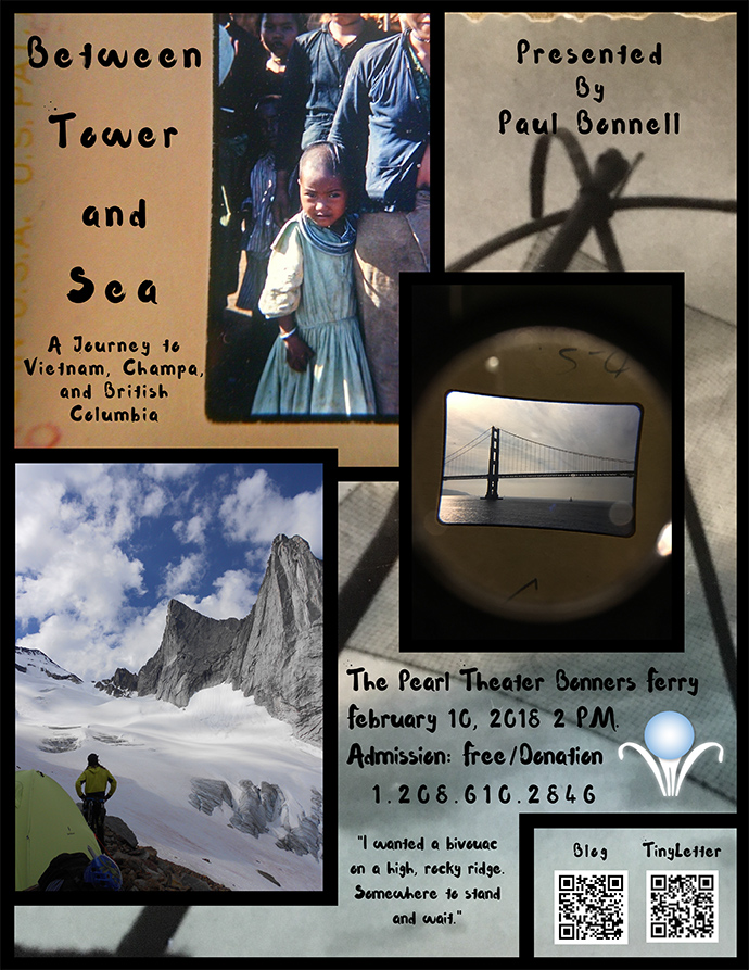 "The Pearl Theater presents ""Between Tower and Sea,"" a project by Paul Bonnell"