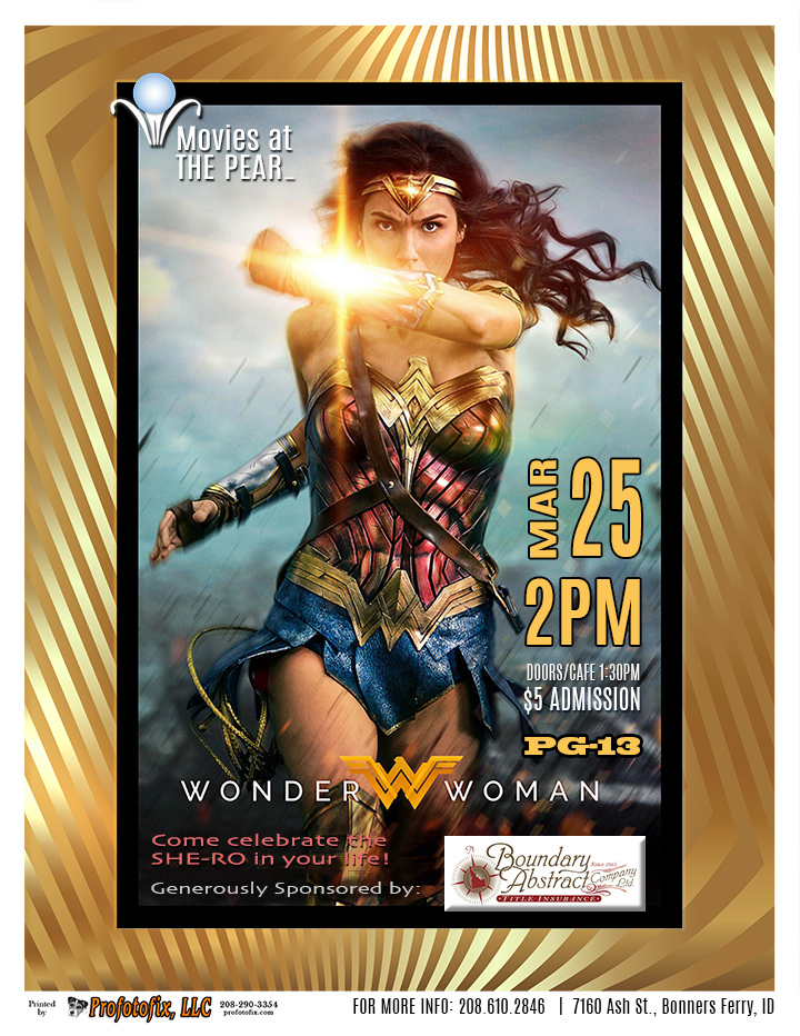 Movie at The Pearl - WONDER WOMAN