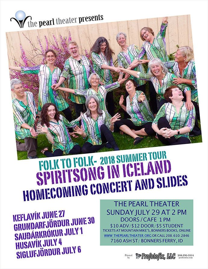 """SPIRITSONG IN ICELAND"""
