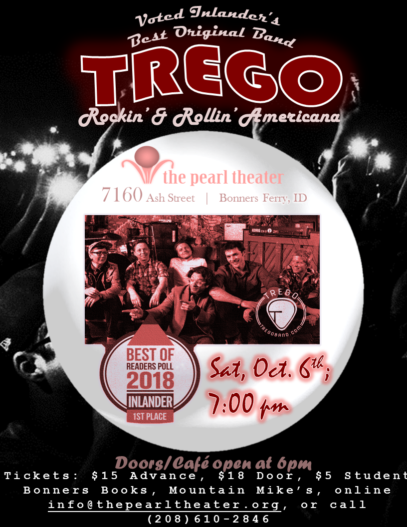 "The Pearl Presents - Trego ""Rockin' & Rollin' Americana"""