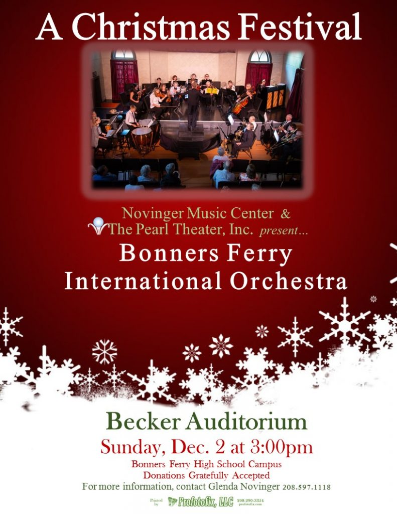 Bonners Ferry Community Orchestra at Becker Auditorium