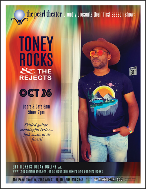 The Pearl Presents -- TONEY ROCKS and The Rejects