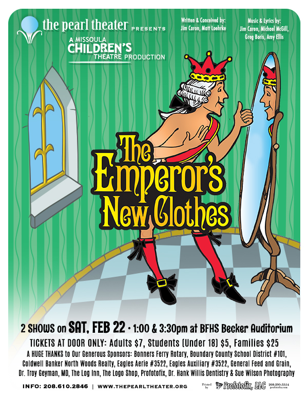"Missoula Children's Theater -- ""The Emperor's New Clothes"""